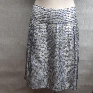 Banana Republic A-Line Silk Skirt (NWT)